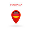 location icon for germany flag eps file vector image
