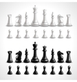 Realistic Chess Figures vector image