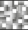 Squares abstract white and grey background eps 10