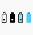 40 percent battery level icon isolated on white