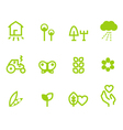 agriculture farming icons vector image vector image
