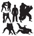 judo vector image vector image