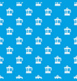 juicer pattern seamless blue vector image vector image