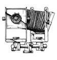 view camera vector image