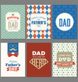 card template for father day vector image vector image