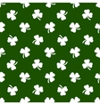 Clover leaves background St Patricks day vector image vector image