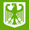 coat of arms of germany icon green vector image vector image