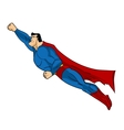 Flying Superhero Icon action vector image vector image