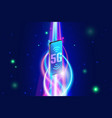 high speed 5g wireless network on smartphone vector image vector image