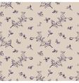 seamless pattern vintage floral vector image vector image