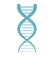 DNA and molecule icon vector image