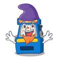 elf slot machine in mascot shape vector image