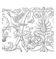 friezes at venice the ionic or corinthian order vector image vector image