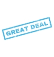 Great Deal Rubber Stamp vector image vector image