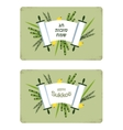 greeting cards for Jewish holiday happy sukkot in vector image vector image