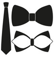icon poster man father dad day classic tie bowtie vector image