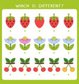 simple logic game for kids vector image vector image