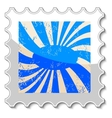 Abstract grunge stamp vector image