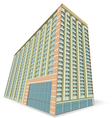 Architectural model resident vector image