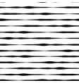 black white drawn lines seamless background vector image vector image