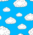 clouds seamless wallpaper vector image