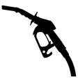 Gas pump nozzle vector image vector image