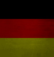 Grunge messy flag German vector image vector image