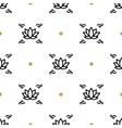 lotus seamless pattern yoga background vector image