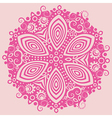 Ornamental design vector image