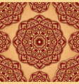 ornamental pattern with mandala vector image