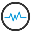 Pulse Monitoring Icon vector image vector image