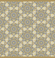 seamless repeating pattern of mandalas vector image vector image