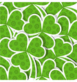 template st patricks day pattern vector image