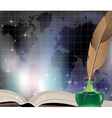 Ancient book vector image