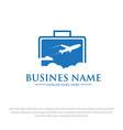 business ravel logo designs vector image vector image