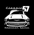 classic car 02 vector image