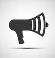 icon megaphone vector image vector image