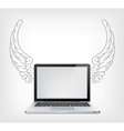 Laptop pc vector | Price: 1 Credit (USD $1)