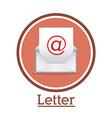Message design vector image