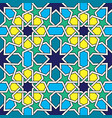 moroccan tiles pattern moorish seamless design vector image vector image