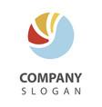 sea logo desing vector image