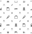 tool icons pattern seamless white background vector image vector image
