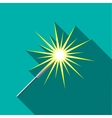 Sparkler icon flat style vector image