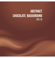 abstract chocolate background vector image