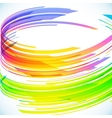 Abstract rainbow cylinder background vector image vector image