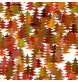 color abstract random autumn forest background vector image vector image