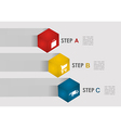 E commerce steps info graphics vector image vector image