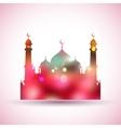 Eid Mubarak Happy Eid background vector image vector image