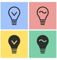 Lamp icon set