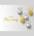 merry christmas and happy new year background for vector image vector image
